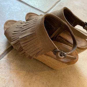 Adorable Fall Sandal booties!